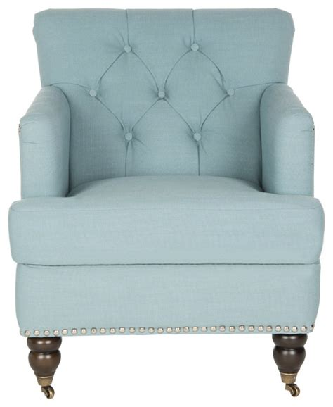 safavieh colin tufted club chair traditional armchairs