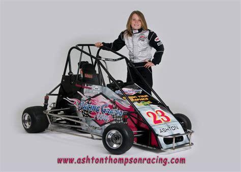 Ashton Thompson Quarter Midget 2   RacingGraphics.com