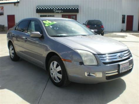 2006 Ford Fusion Mpg by Find Used 2006 Ford Fusion Sel No Reserve Clean Low