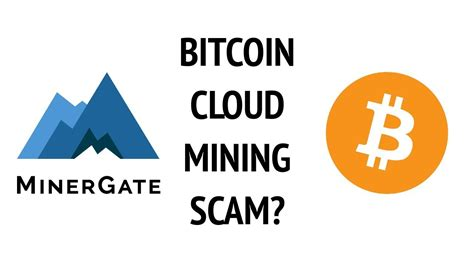 bitcoin cloud mining is minergate a scam bitcoin cloud mining review