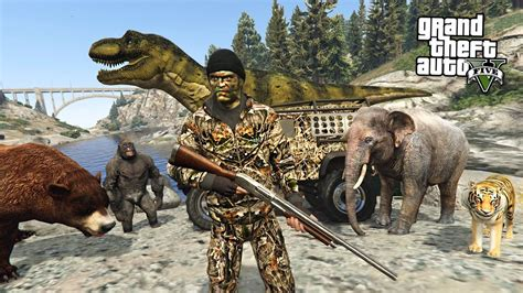 Hunting Rare & Exotic Animals!! (gta 5 Mods)