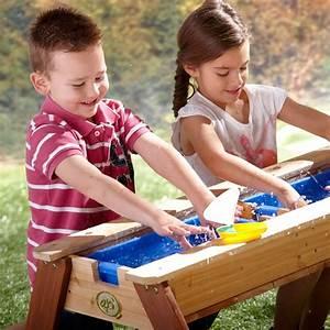 Table Jeux D Eau : table de pique nique bois sable et eau nick 36 x 16 x 101 ~ Melissatoandfro.com Idées de Décoration