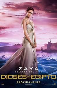 Dioses de Egipto cartel de la pelcula 6 de 6: Zaya, belleza del Nilo