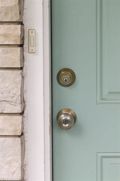 replace  door knob  lock   curb appeal