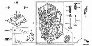 Honda Engines Gc160 Qha2 Engine  Jpn  Vin  Gcah