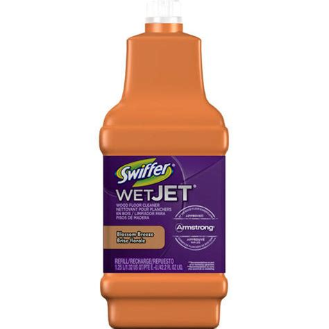 swiffer on wood floors swiffer wetjet wood floor cleaner solution refill inviting home scent 42 2 fl oz walmart com