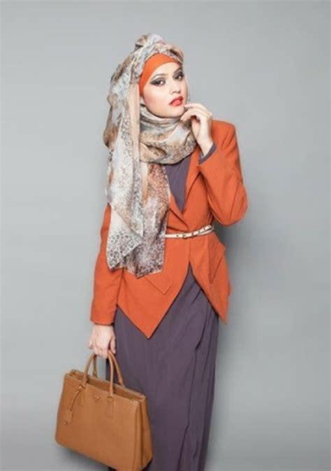 model baju kerja muslim modern yang keren modelbusana