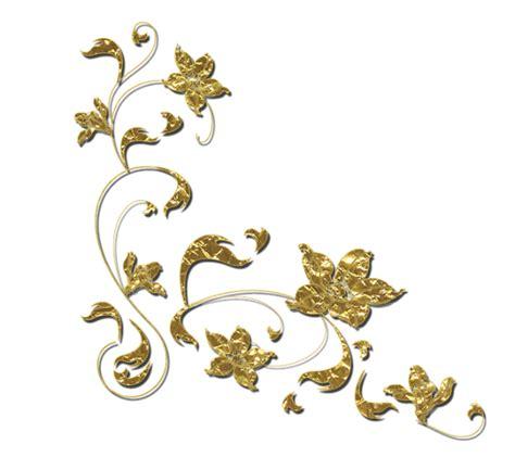 golden floral border transparent background png png arts