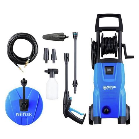 buy nilfisk compact 125 high pressure washer 1500w pressure washers and accessories argos