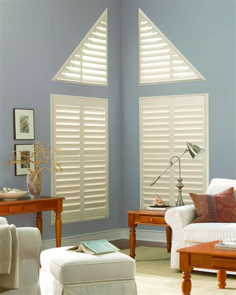 angled windows traditional living room other by