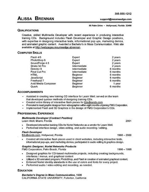 image result  computer experience  cv computer