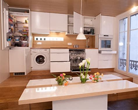 Practical Kitchen Designs For Tiny Spaces