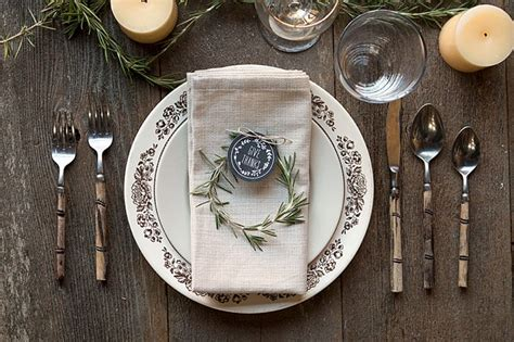 diy thanksgiving place settings party inspiration