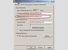 Doteasy Knowledge Base How do I set SMTP authentication