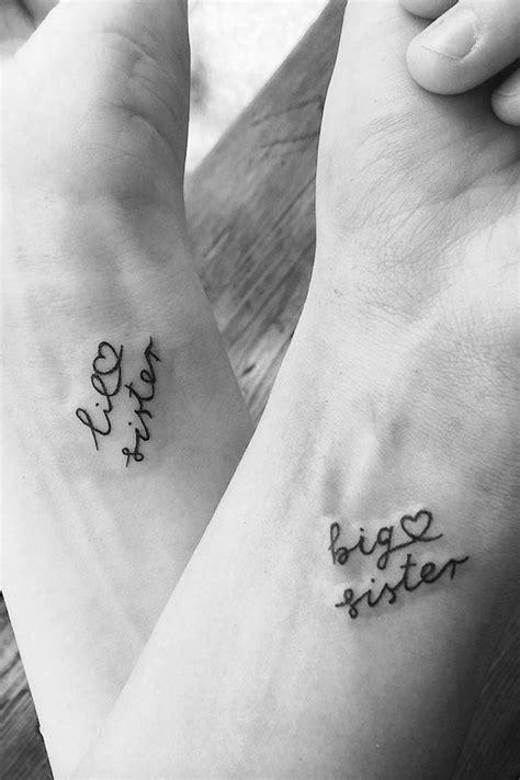 Schwestern-Tattoos: Die schönsten Motive | Sister tattoos, Tattoos, Small tattoos