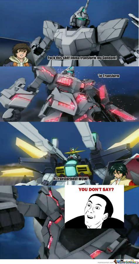 Gundam Memes - gundam unicorn by recyclebin meme center