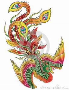 Japanese Phoenix Royalty Free Stock Photography - Image ...