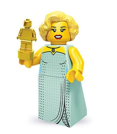 lego minifigures series  hollywood starlet love love