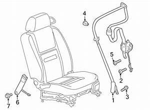 Chevrolet Monte Carlo Seat Belt Receptacle  Titanium