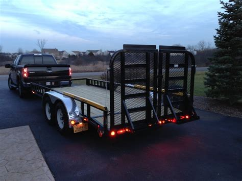 Utility Trailer Lighting Requirements by 2013 Pj 16 Tandem Axle Utility Trailer Review Tools