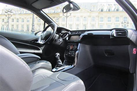 interieur citroen ds3 thp sport chic photo