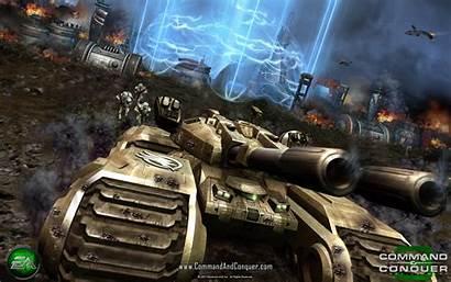Tank Mammoth Tiberium Ion Cannon Wars Conquer