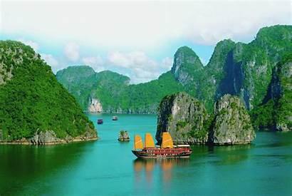 Vietnam Wallpapers Hanoi Saigon Bay Beauty Nam