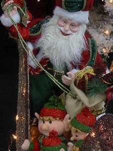 Santa Claus And Elves Free Stock Photo Public Domain