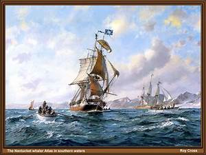 'The Nantucket Whaler Atlas', by Roy Cross. (b. 1924 ...