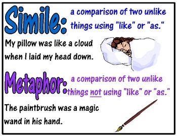 28 Best Similes And Metaphors Images On Pinterest