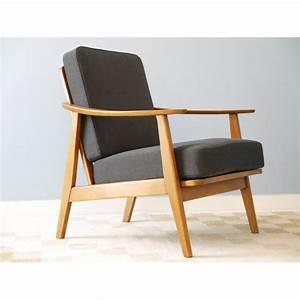 Fauteuil Vintage Scandinave : fauteuil vintage danois design scandinave la maison retro ~ Dode.kayakingforconservation.com Idées de Décoration