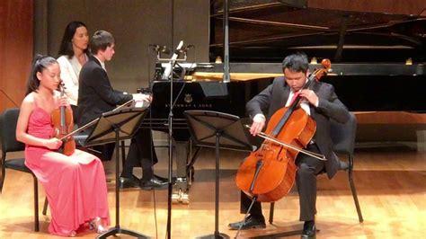 Piazzola Four Seasons Piano Trio, Primavera (spring)