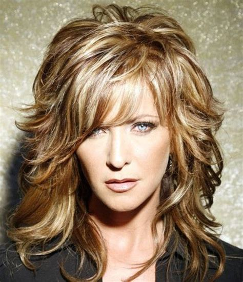 layered hairstyles women over 40 layered hairstyles