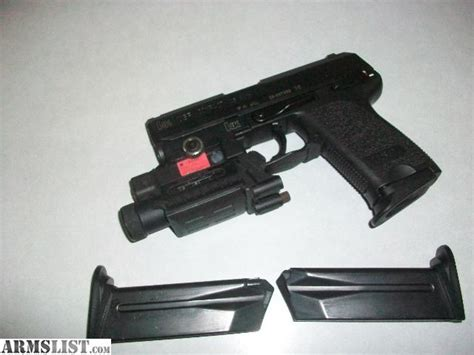 hk usp 45 laser light armslist for sale trade hk usp 45 compact w laser