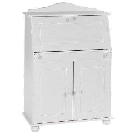 bureau secretaire blanc bureau secrétaire david lasuré blanc mobil meubles