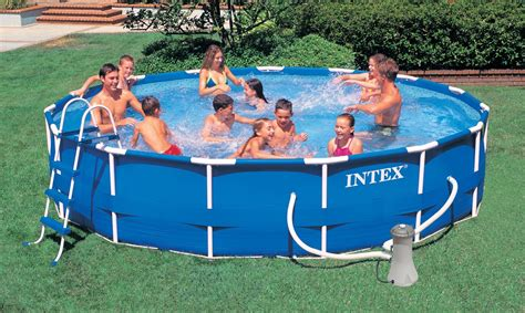 12ft X 30in Intex Frame Set Pools Pump And Filter