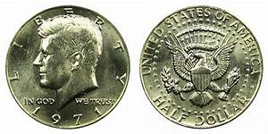 1971 Kennedy Half Dollars Clad Composition Value And Prices