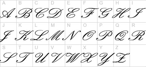 Cursive English Letters  Letter Template