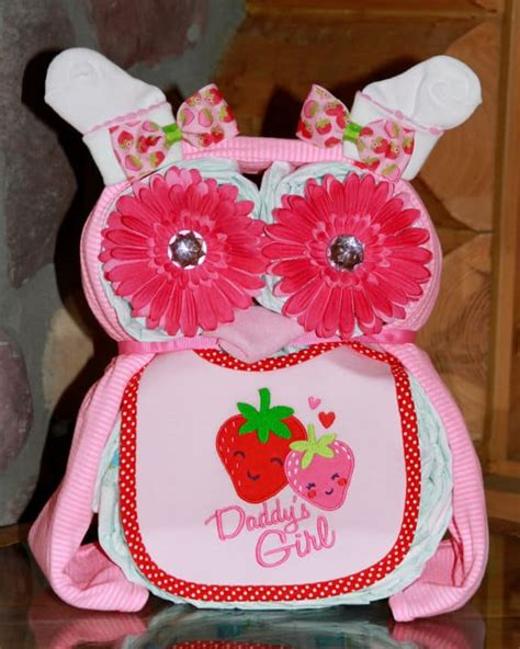 creative diaper cakes diy baby shower party ideas