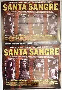 Santa Sangre (British 4 Sheet Poster) - Original Cinema ...