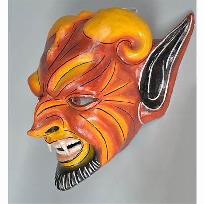 Mask Diablo Peru Devil Latin America Face