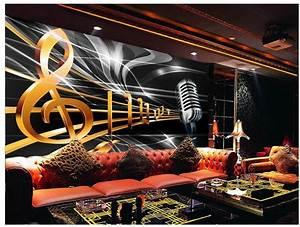 Customize wallpaper papel de parede Dynamic music notation ...