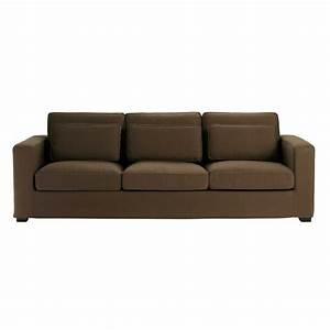 Sofa 4 Sitzer : sofa 4 sitzer aus baumwolle schokoladenbraun milano milano maisons du monde ~ Eleganceandgraceweddings.com Haus und Dekorationen
