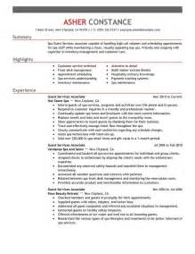 resume template for customer service associates resumes for college unforgettable guest service associate resume exles to stand out myperfectresume