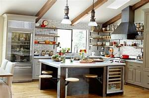 Excellent kitchen in the industrial style - My-Sweet-House