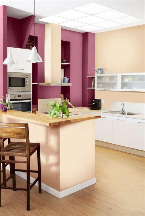 peinture murale cuisine peinture murale 107 idées couleurs pour la maison
