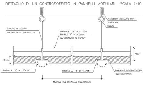 Controsoffitto Sezione by Plafoniera Neon Controsoffitto Happycinzia