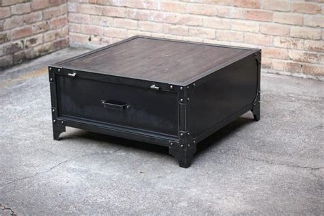 Industrial Coffee Table / Locker / File/ Table / By