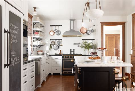 white kitchen with black island contrast in the kitchen comfy cozy couture