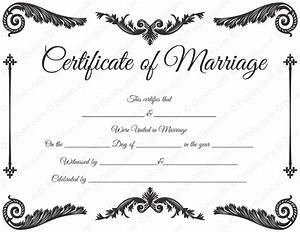 royal corner marriage certificate template dotxes With wedding certificate templates free printable